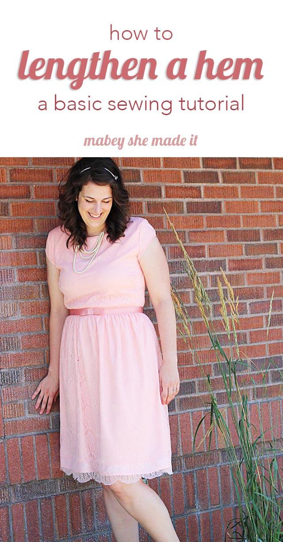 Maxi dress hemmed too short