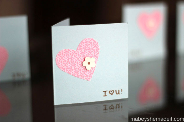Handmade Valentine Cards Mabey She Made It