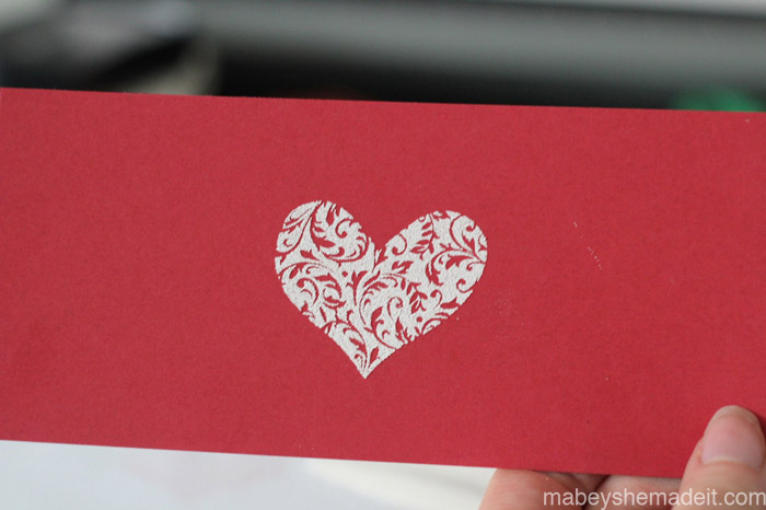 Embossing Tutorial | Mabey She Made It #embossing #stamping