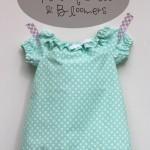 Ruffled Peasant Dress & Bloomers + Natty Jane PDF Pattern Giveaway