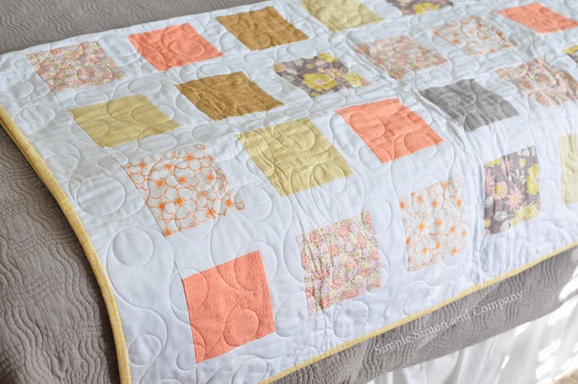 Ragged Baby Blanket Tutorial by Simple Simon and Company | Mabey ... : baby quilt for beginners - Adamdwight.com