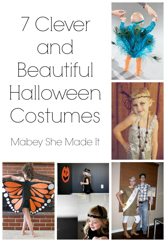 Clever and Beautiful Halloween Costumes | Mabey She Made It | #halloween #costume #idaho