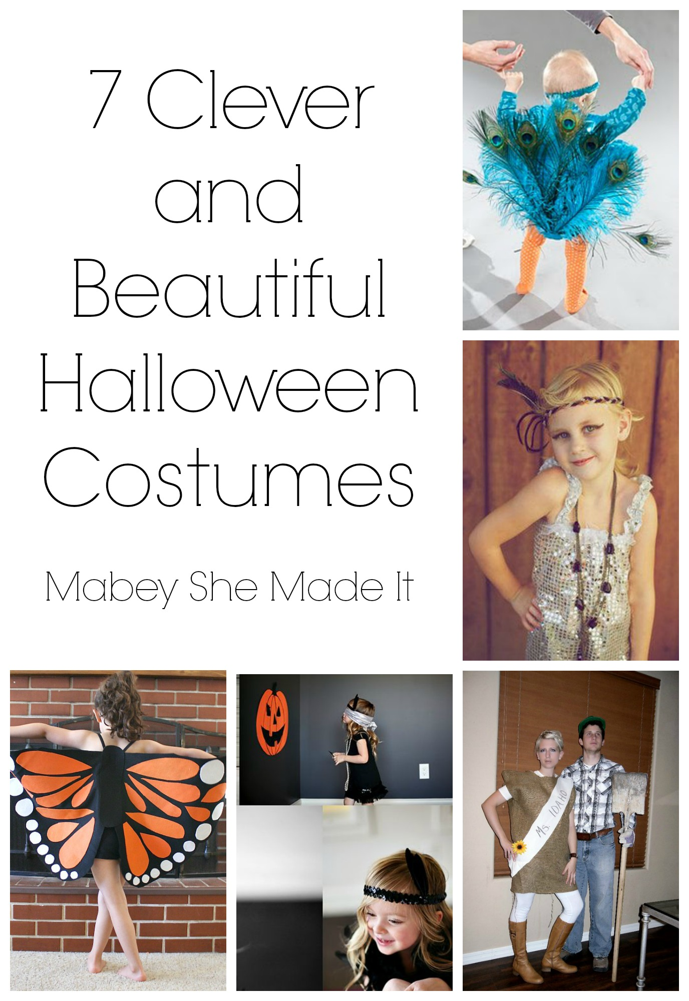 7 fabulous halloween costume ideas | mabey she made it