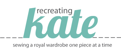 Recreating Kate: Sewing a Royal Wardrobe One Piece at a Time | Mabey She Made It