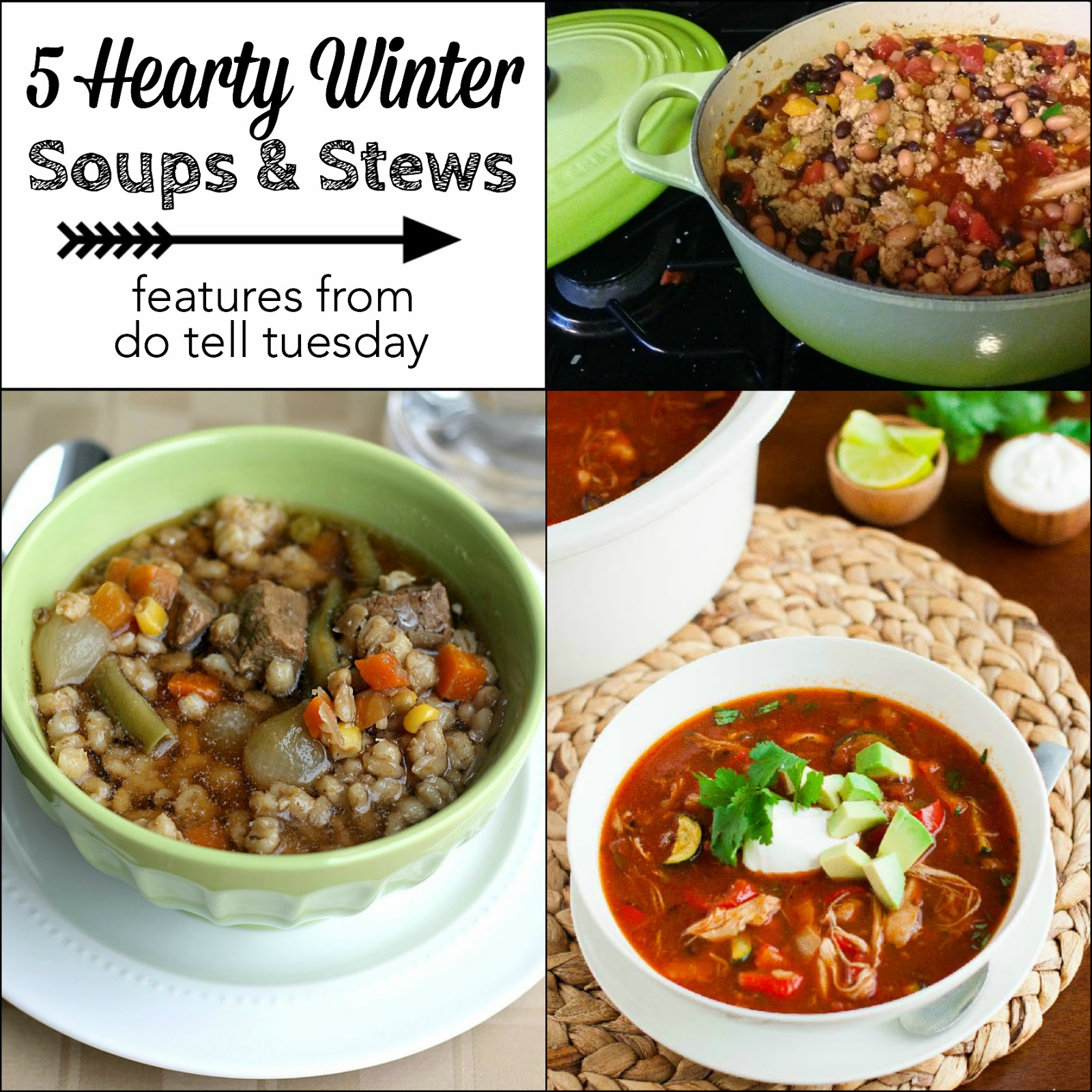 5 Winter Soups and Stews
