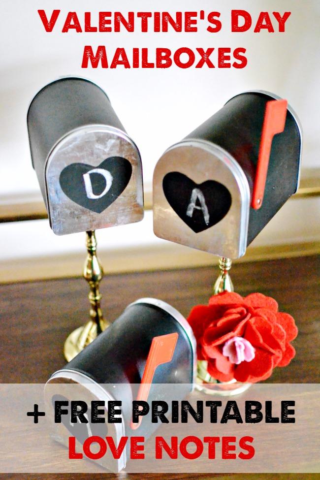 2 Lovely Valentine's Day Crafts    Mabey She Made It   #valentine #dotelltuesday
