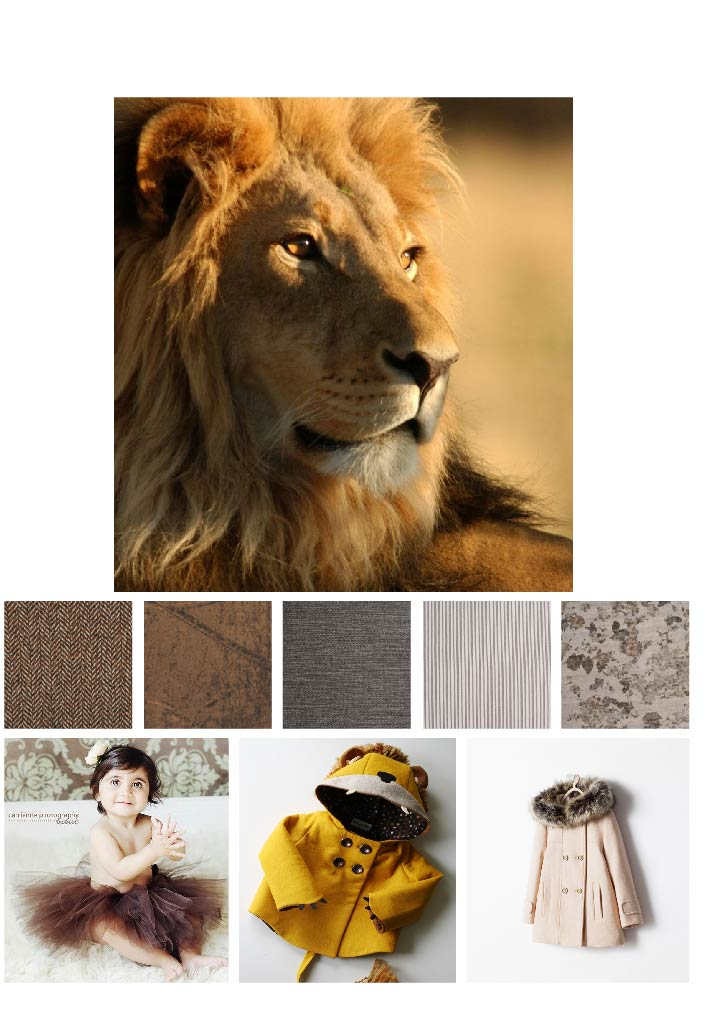 Lion Collage