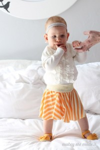 Easy Circle Skirt by Mabey She Made It