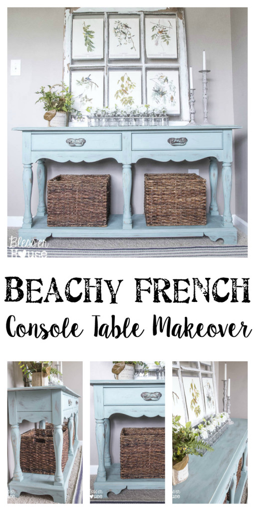 Beachy-French-Console-Table-Makeover-511x1024