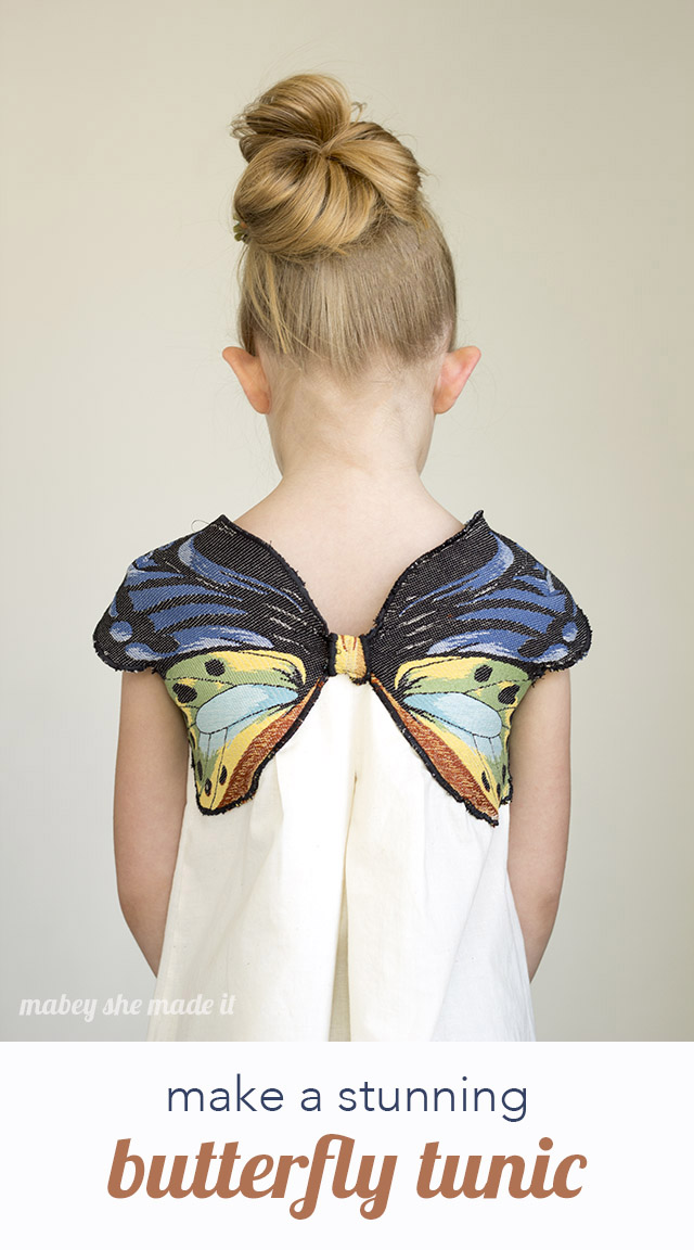 Make a beautiful butterfly top with this tutorial. Perfect for a costume or for every day.