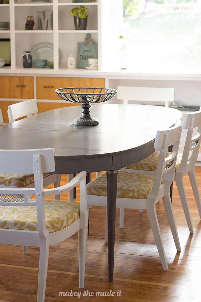 1920s Dining Table and Chairs | Mabey She Made It