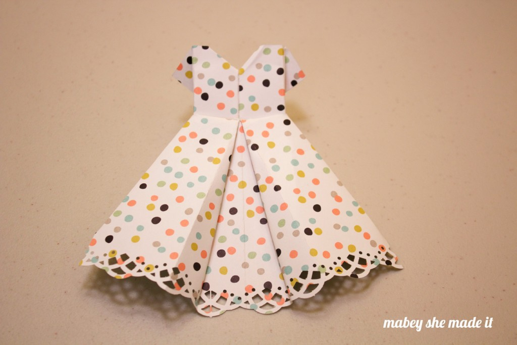 how to make a paper dress easy