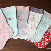 Make your own Christmas stocking with this free pattern and tutorial.