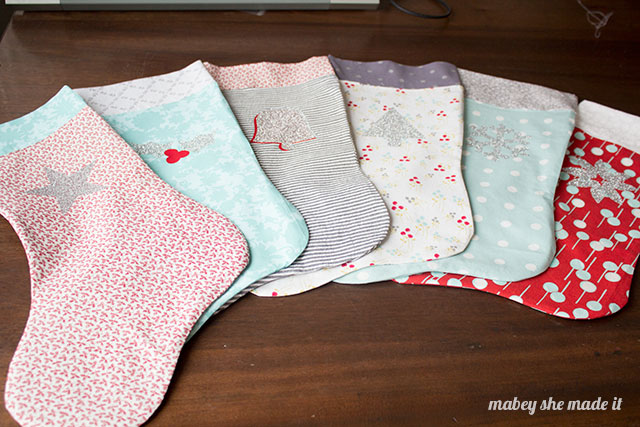 Make your own Christmas stockings with this free pattern and tutorial.