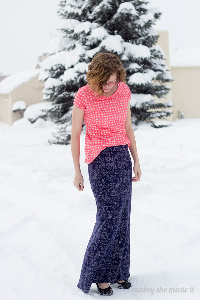 Super cute Mermaid Maxi Skirt tutorial.