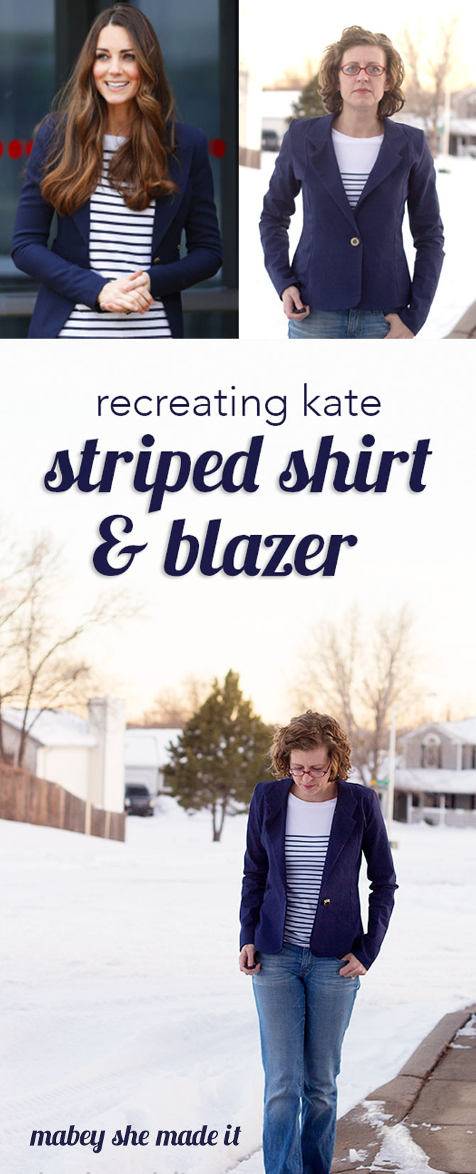 I'm recreating some of my favorite Kate Middleton looks in the Recreating Kate series--come see more!