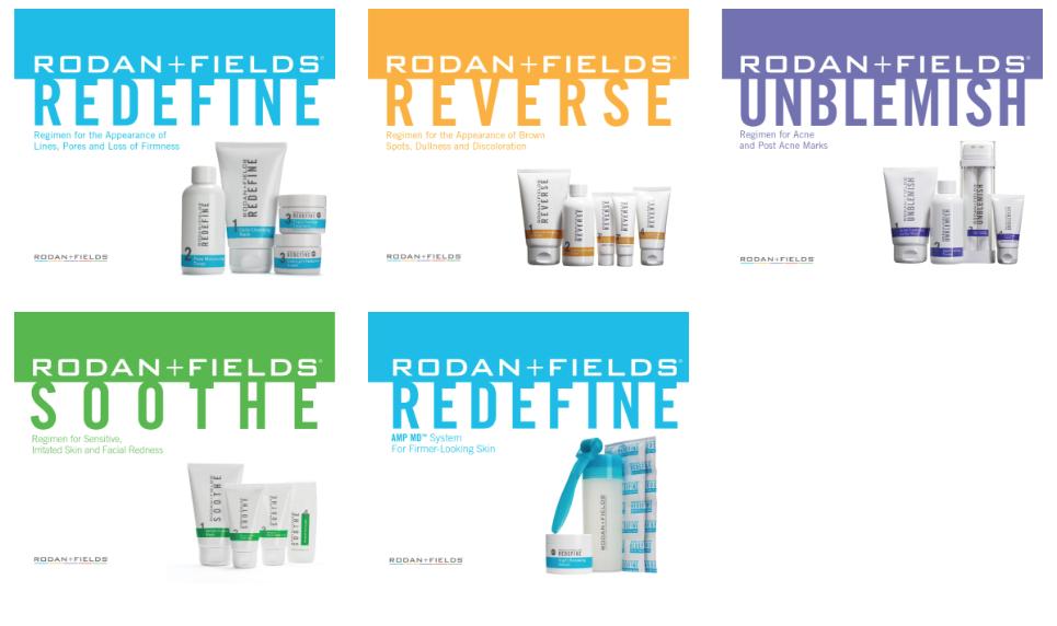 Rodan + Fields Products