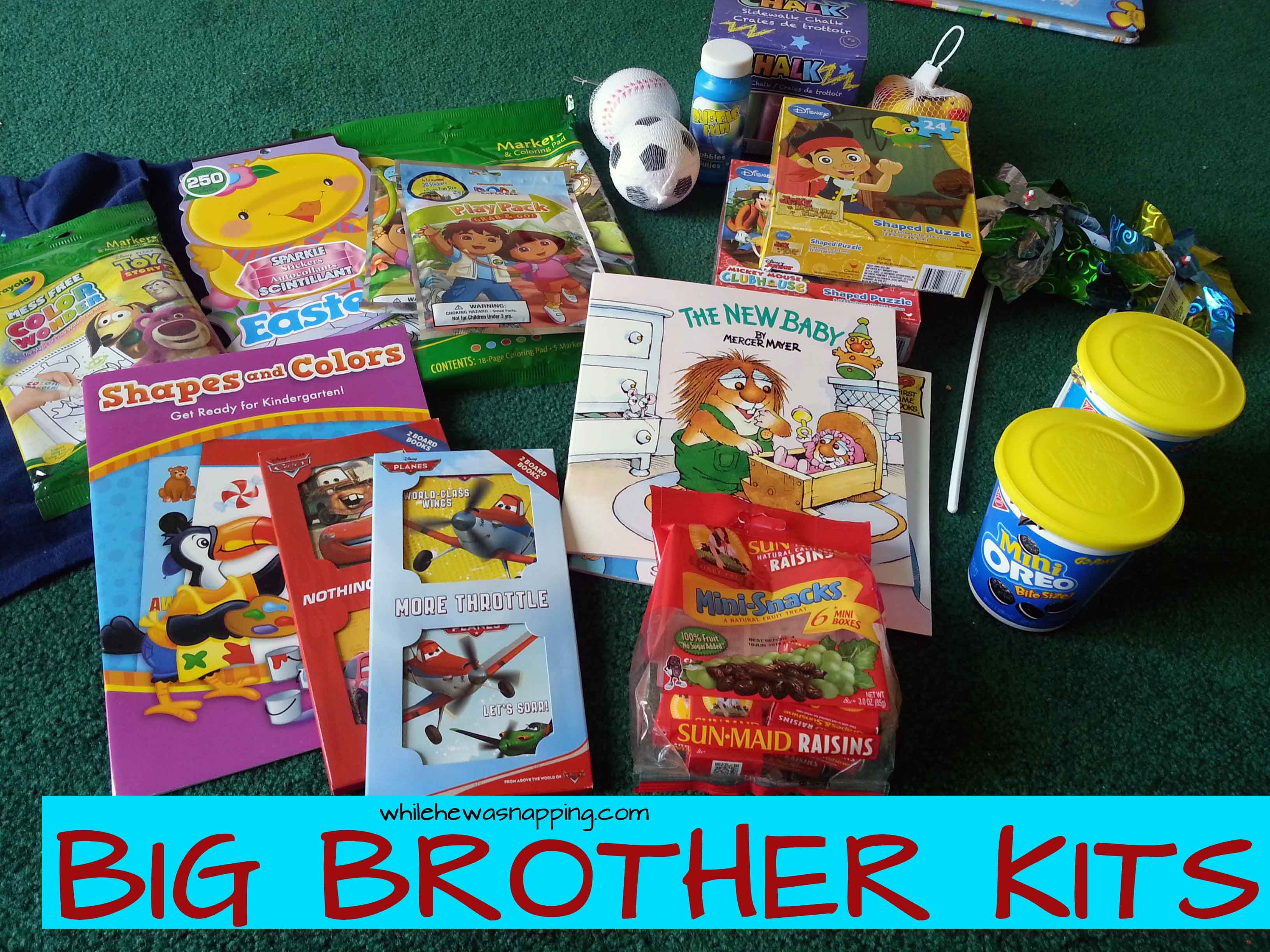 Big Brother Kits | Mabey She Made It